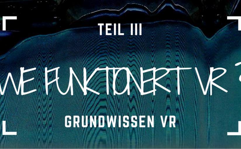 GRUNDWISSEN VR III